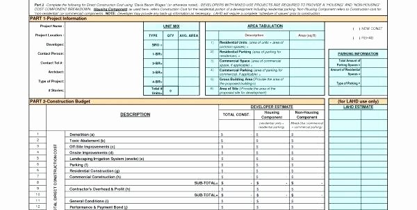 Construction Budget Template Excel Awesome New Home Construction Schedule Sample Residential