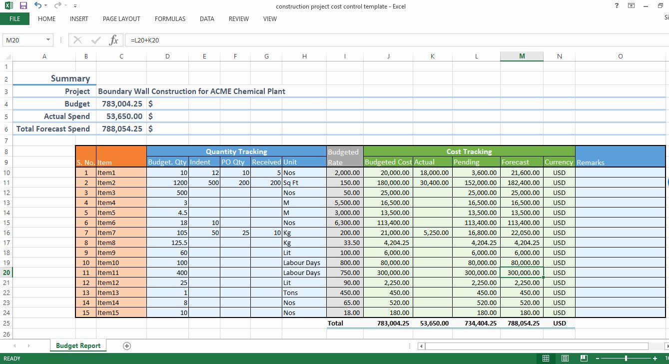 Construction Budget Template Excel Best Of Construction Material Tracking Spreadsheet Spreadsheet