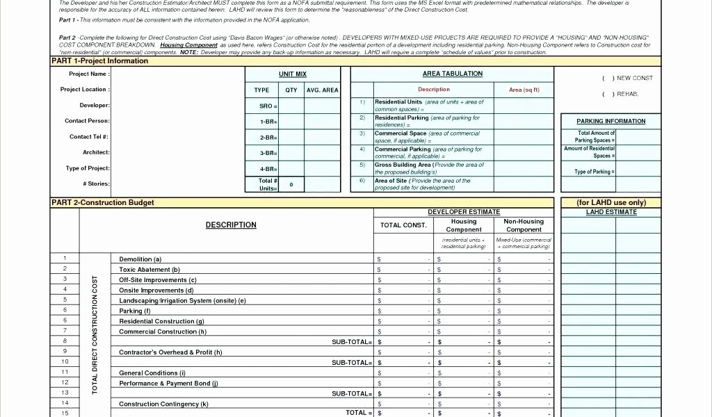 Construction Gantt Chart Excel Template Awesome Gantt Chart Template for Residential Construction S