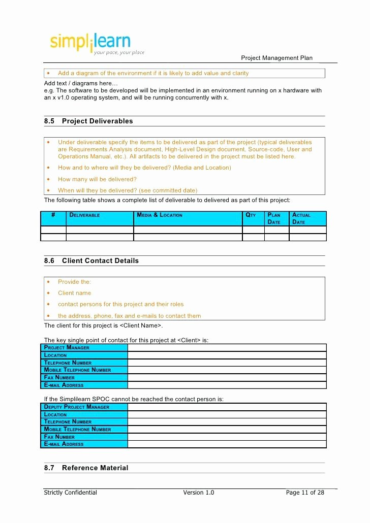 Construction Management Plan Template Awesome Construction Project Management Plan Business Proposal