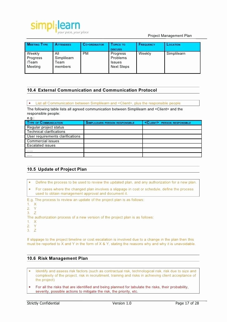 Construction Management Plan Template Luxury Project Team Munication Plan Template – Arabnormafo