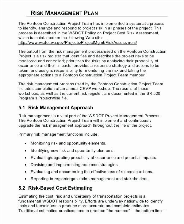 Construction Management Plan Template New Construction Management Plan Template thevillasco