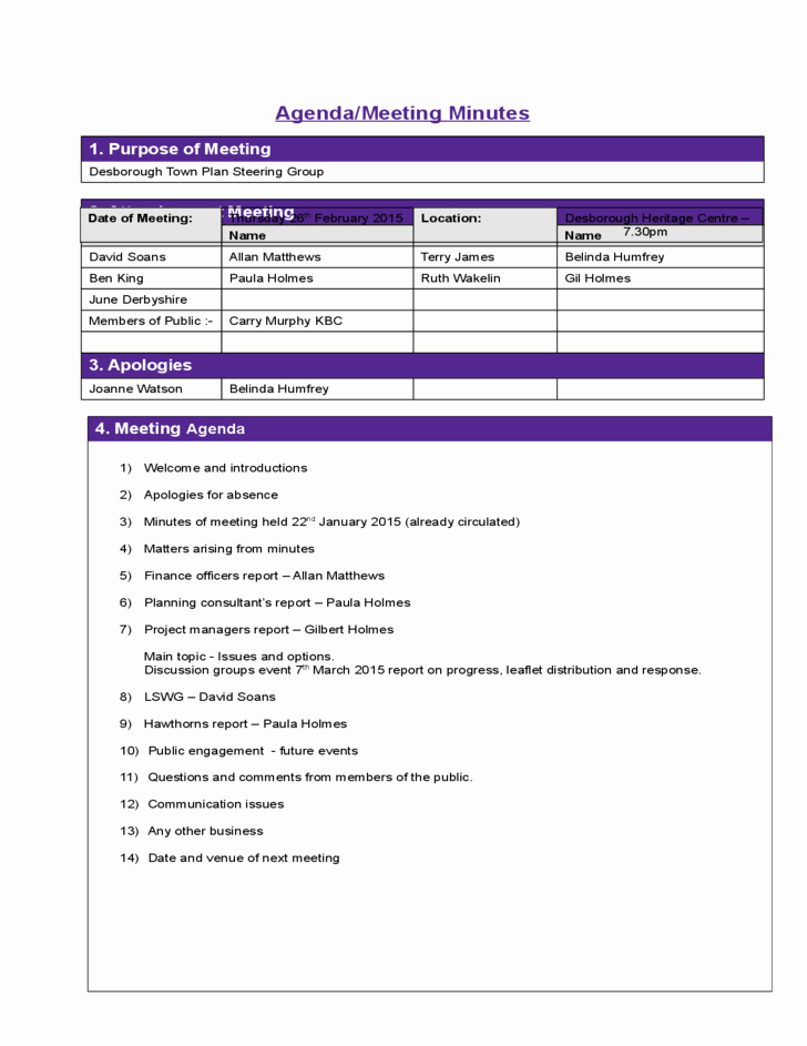 Construction Meeting Agenda Template Best Of Construction Bid Template