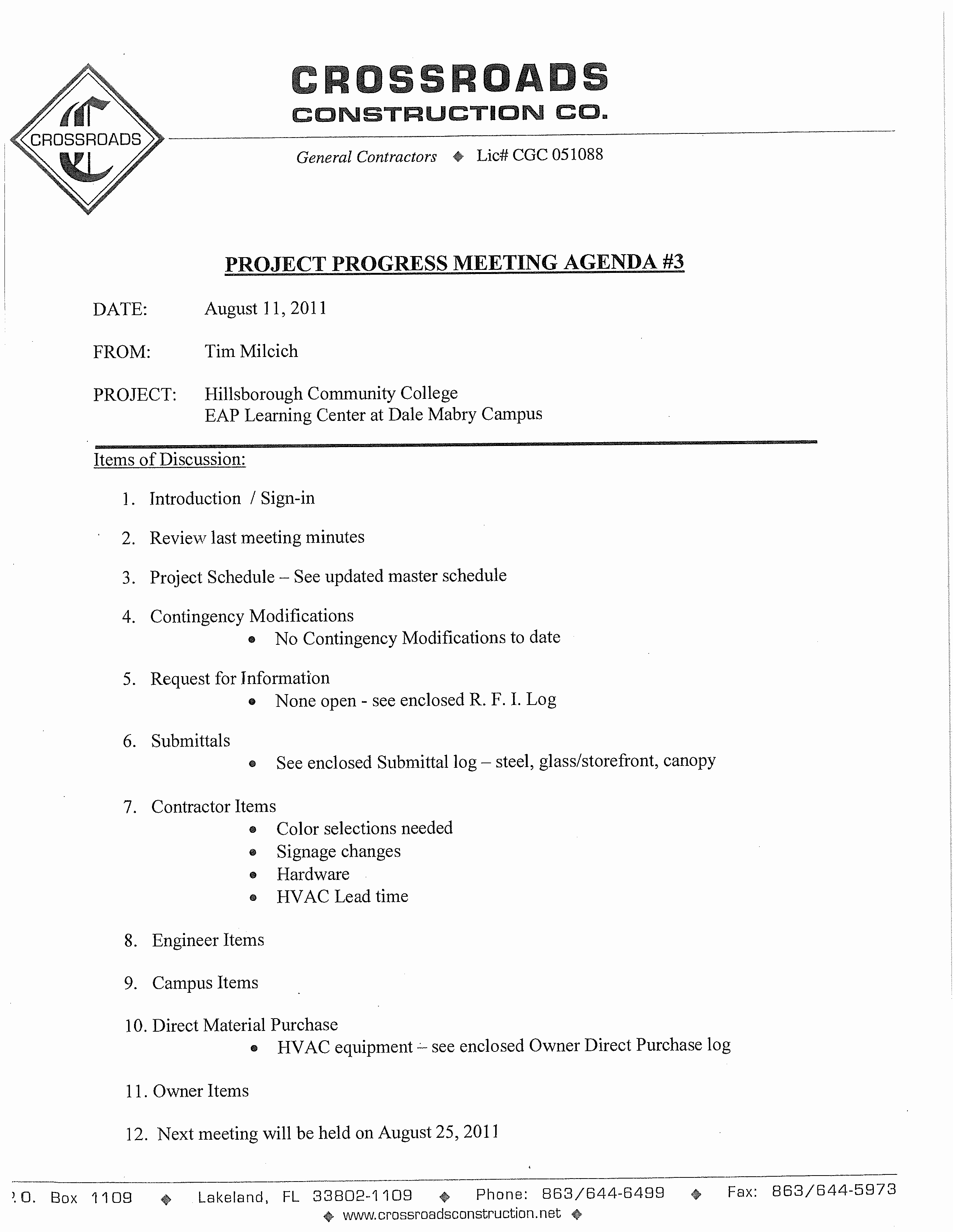 Construction Meeting Agenda Template Inspirational 免费 Construction Project Progress Meeting Agenda Template