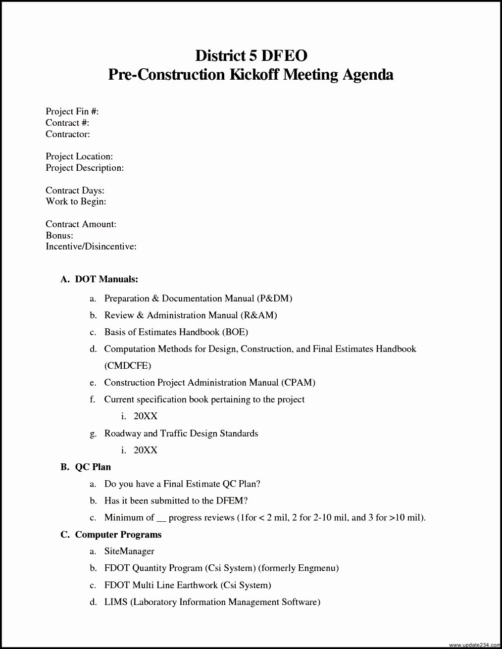 Construction Meeting Agenda Template New Construction Kick F Meeting Agenda Template Template