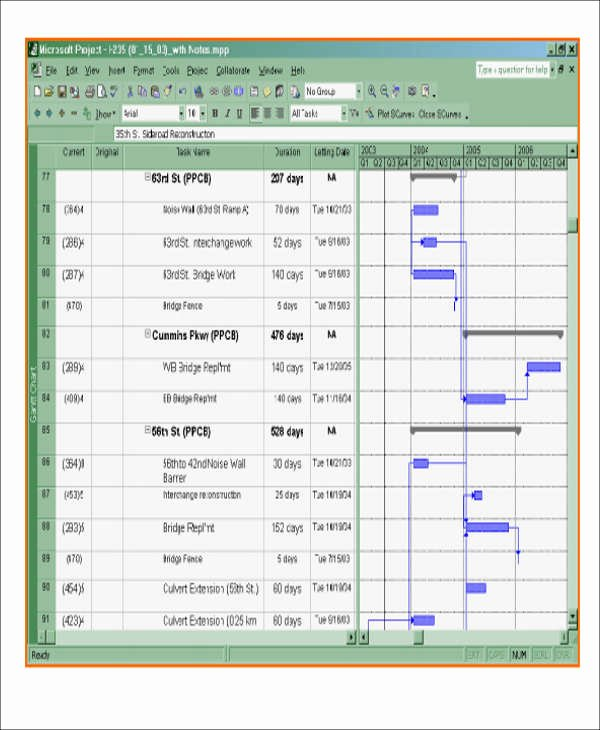 Construction Project Schedule Template Unique 7 Excel Construction Schedule Templates