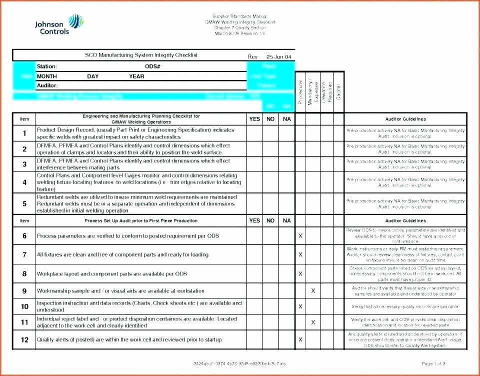 Construction Quality Control Plan Template New Sample Quality Control Plan for Manufacturing Project