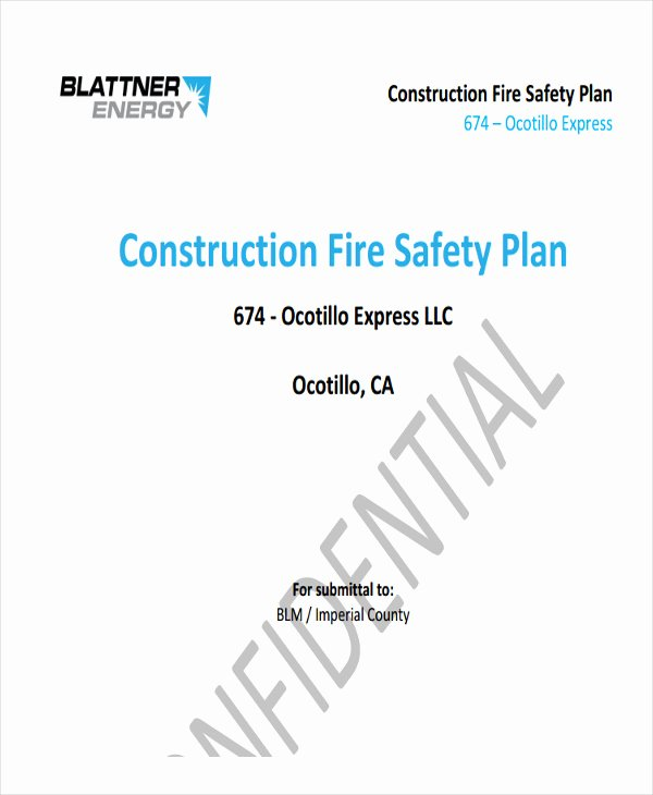 Construction Safety Plan Template Beautiful 29 Safety Plan Samples