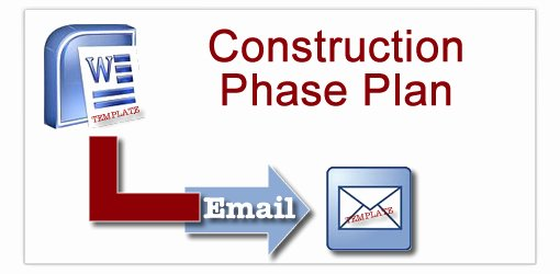Construction Safety Plan Template Beautiful Construction Phase Plan Templates