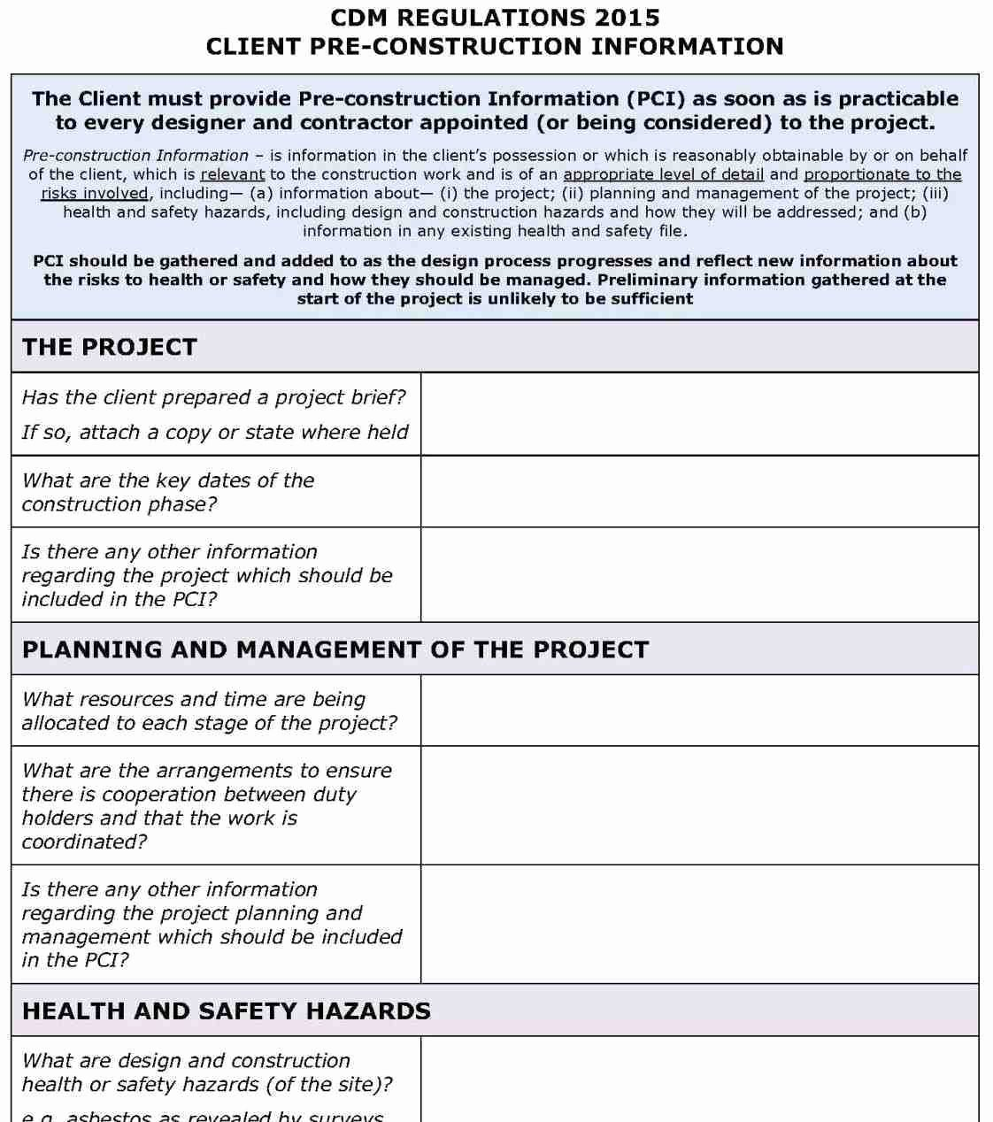 Construction Safety Plan Template Lovely 4 5 Safety Plan Mental Health Template