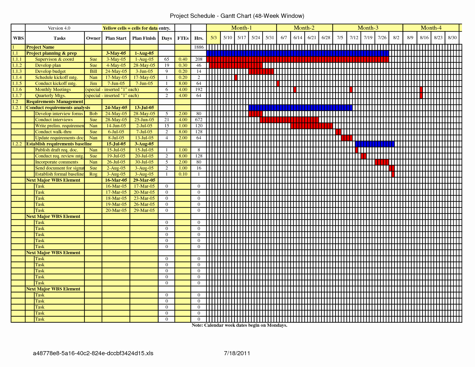 Construction Schedule Excel Template Free New Construction Schedule Template Excel