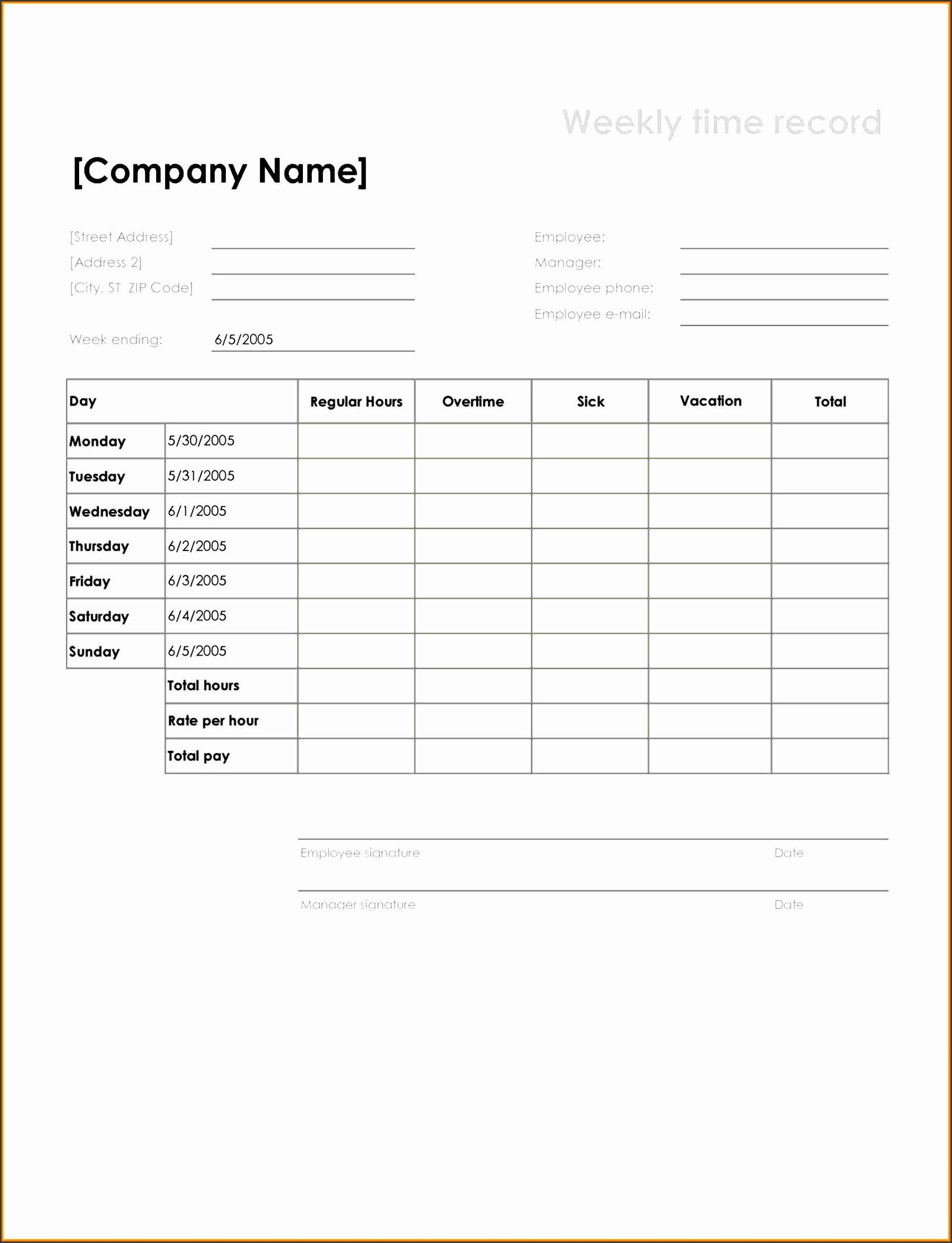 Construction Time Card Template Best Of 6 Printable Construction Scope Work Sampletemplatess