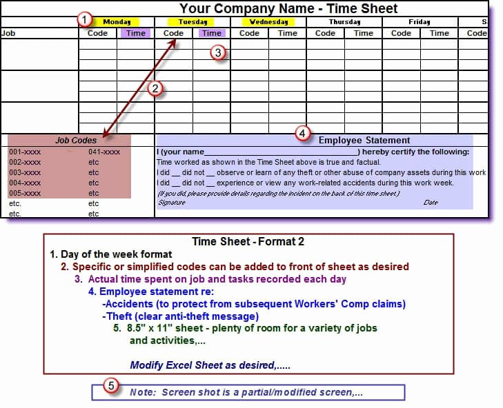 Construction Time Card Template Fresh Timesheets for Construction Panies English Only