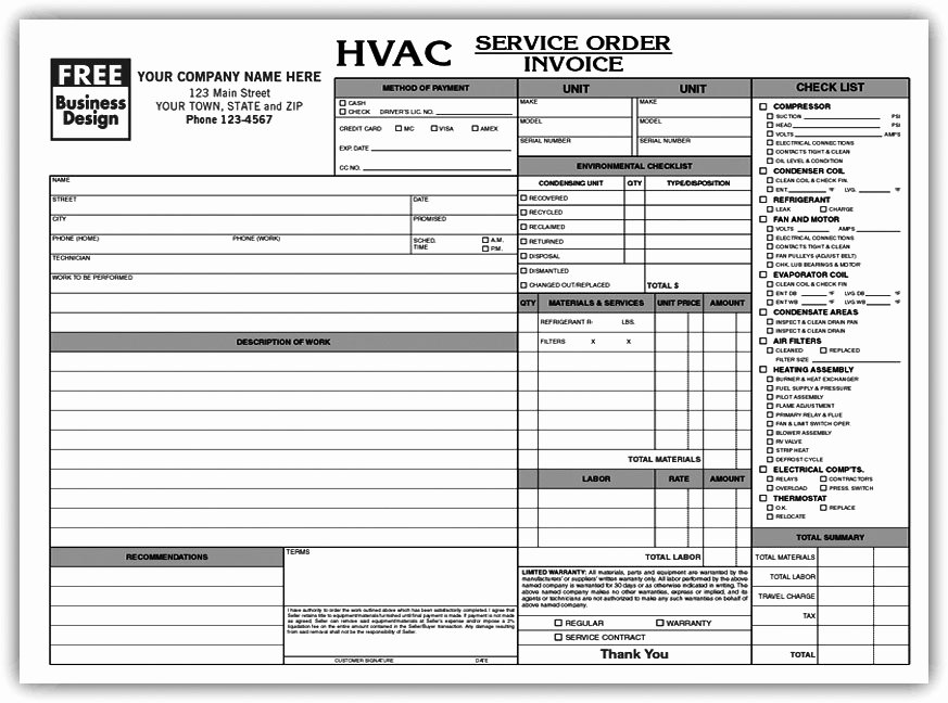 Construction Work order Template New Contractor Work order form Letsridenow