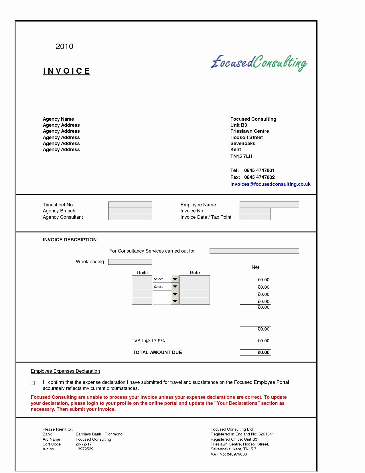 Consultant Invoice Template Excel Awesome Consultant Invoice format Invoice Template Ideas