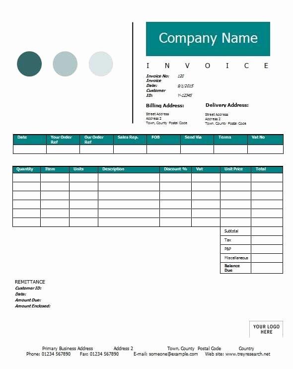 Consultant Invoice Template Excel Elegant Contractor Invoice Template Printable Word Excel