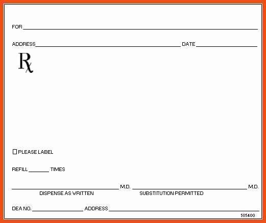 Contact Lens Prescription Template Awesome Blank Prescription form Template – Versatolelive