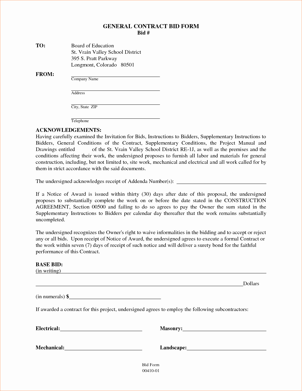 Contract for Construction Work Template Best Of Residential Construction Contract