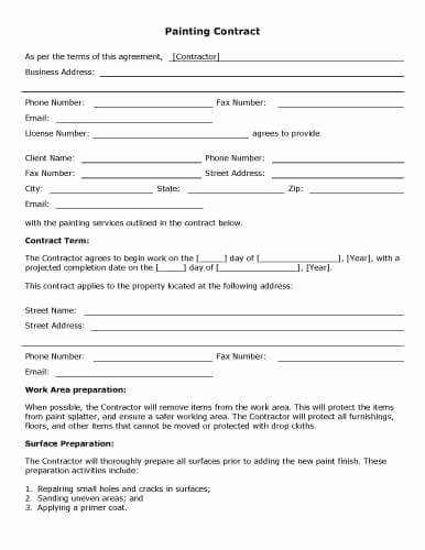 Contract for Construction Work Template Lovely 32 Sample Contract Templates In Microsoft Word