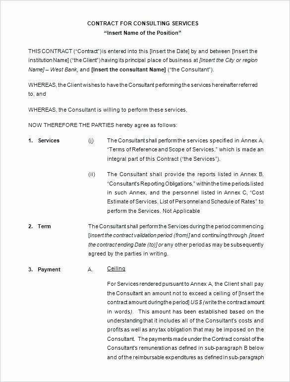 Contract for Money Owed Template Awesome Payment Contract Template – Hafer