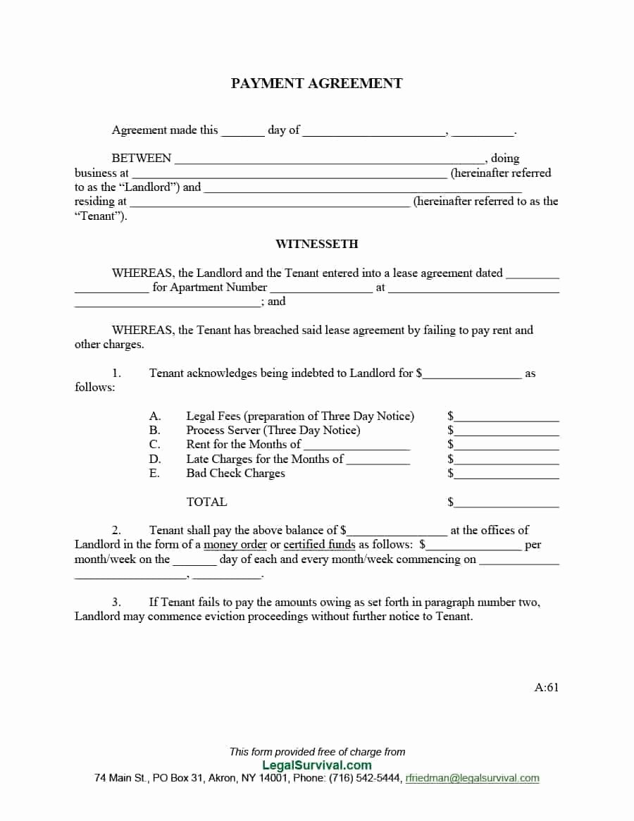 Contract for Money Owed Template Beautiful 33 Great Payment Plan Schedule Templates Template Archive