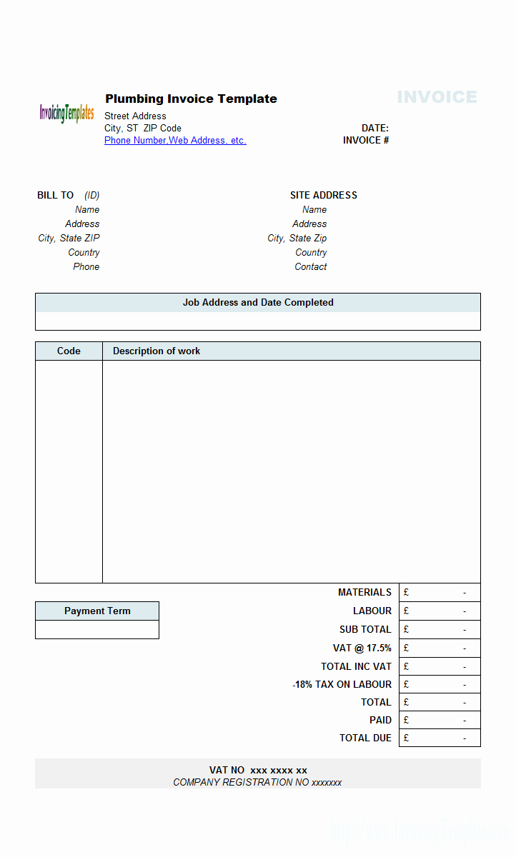 Contractor Invoice Template Excel Lovely Independent Contractor Invoice Template Excel