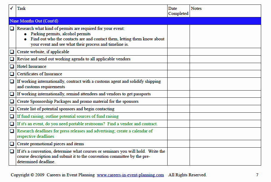 Corporate event Planning Checklist Template Best Of event Planning Checklist
