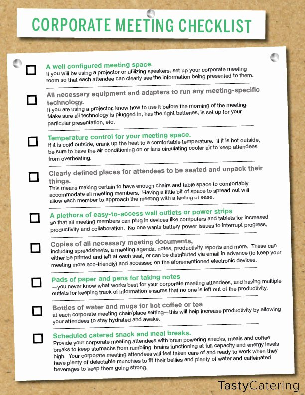 Corporate event Planning Checklist Template Lovely Corporate Meeting Planning Checklist & Tips