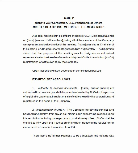 Corporate Meeting Minutes Template Word Fresh Corporate Meeting Minutes Template – 9 Free Word Excel