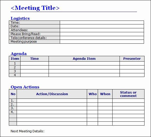 Corporate Meeting Minutes Template Word Luxury Meeting Minutes Template 16 Download Free Documents In