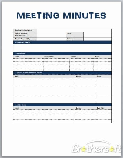Corporate Meeting Minutes Template Word New Download Free Meeting Minutes Template Meeting Minutes