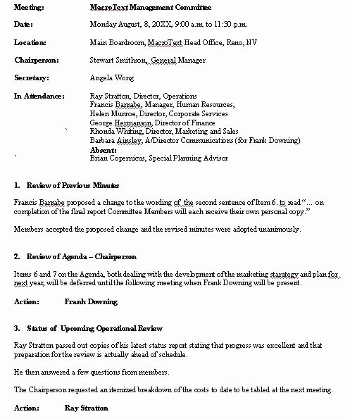 Corporate Minute Book Template Best Of Corporate Board Meeting Minutes Template Minute Book Free