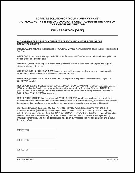 Corporate Resolution Authorized Signers Template Unique Virginia Corporate bylaws Template Template 2 Resume