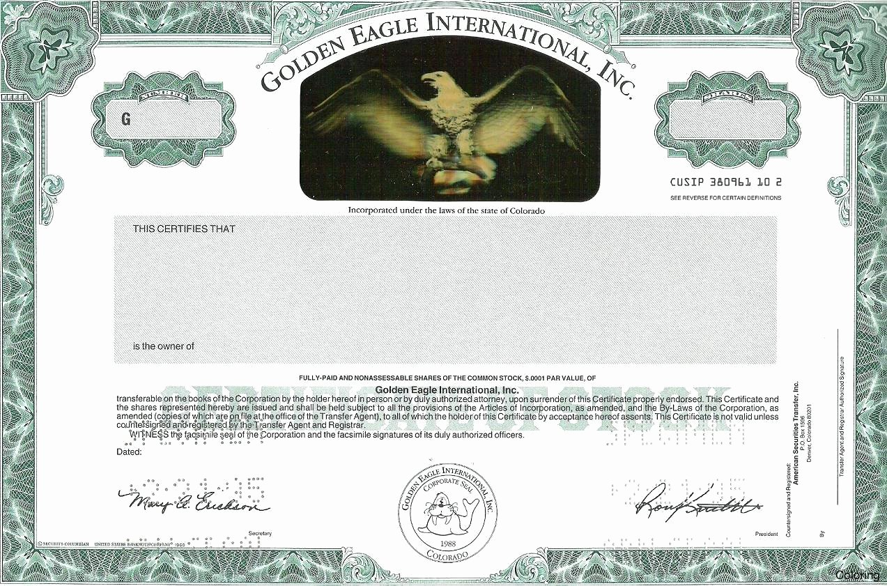 Corporate Stock Certificate Template Awesome Template Corporate Stock Certificate Template