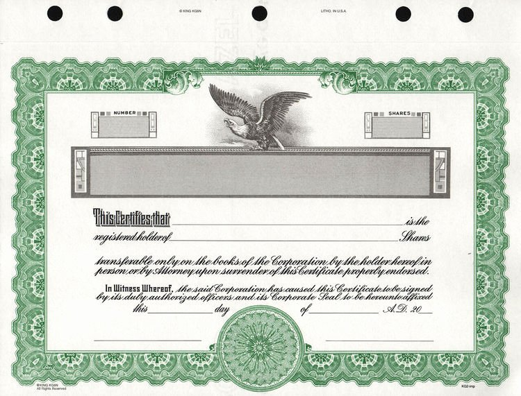 Corporate Stock Certificate Template Lovely Kg2 Corporate Stock Certificates Free Shipping