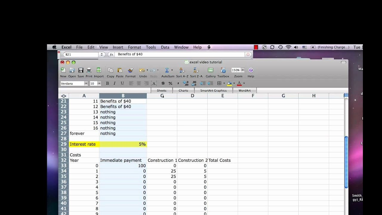 Cost Analysis Excel Template Lovely Excel Cost Benefit Tutorial4