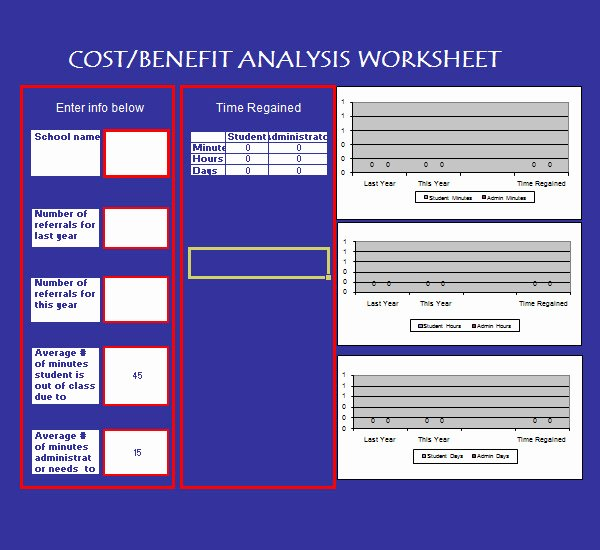 Cost Analysis Excel Template New 18 Cost Benefit Analysis Templates