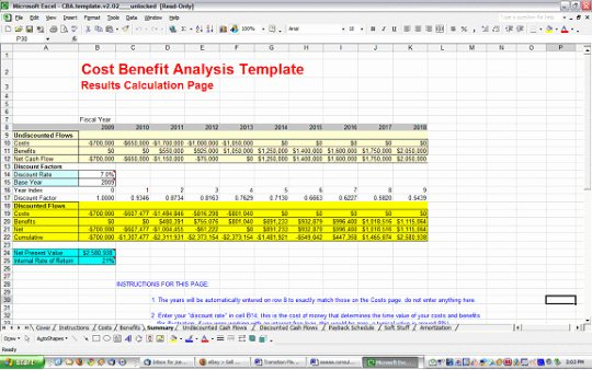 Cost Analysis Template Excel Best Of Cost Benefit Analysis Template Free and
