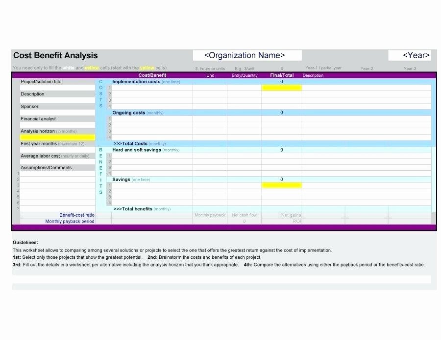 Cost Saving Analysis Template Awesome Cost Savings Analysis Template – Deepwatersfo