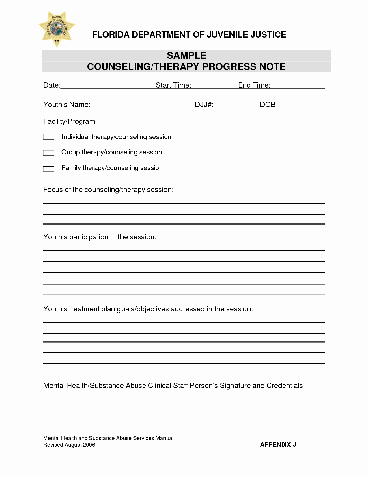 Counseling Progress Note Template Unique 98 Group therapy Progress Note form therapy Progress