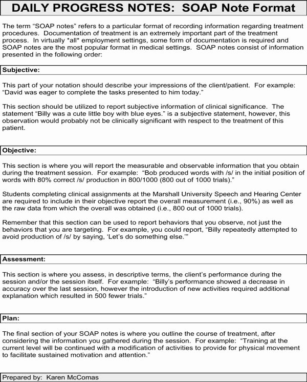 Counseling Progress Notes Template Inspirational 17 Best Free Counseling Note Templates Images On Pinterest