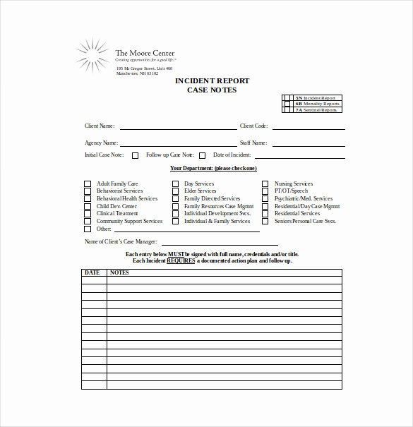 Counseling Session Notes Template Lovely Counseling Case Notes Template Templates Resume