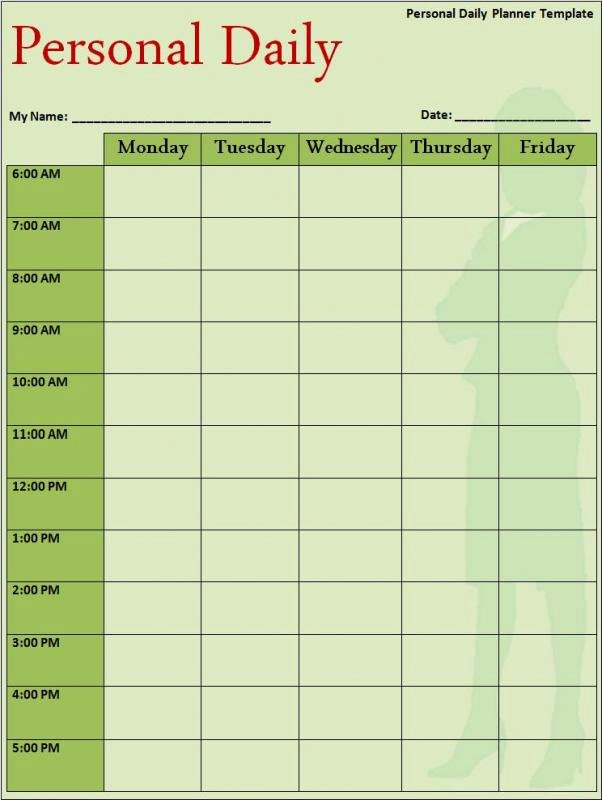 Course Schedule Planner Template Luxury College Class Schedule Template