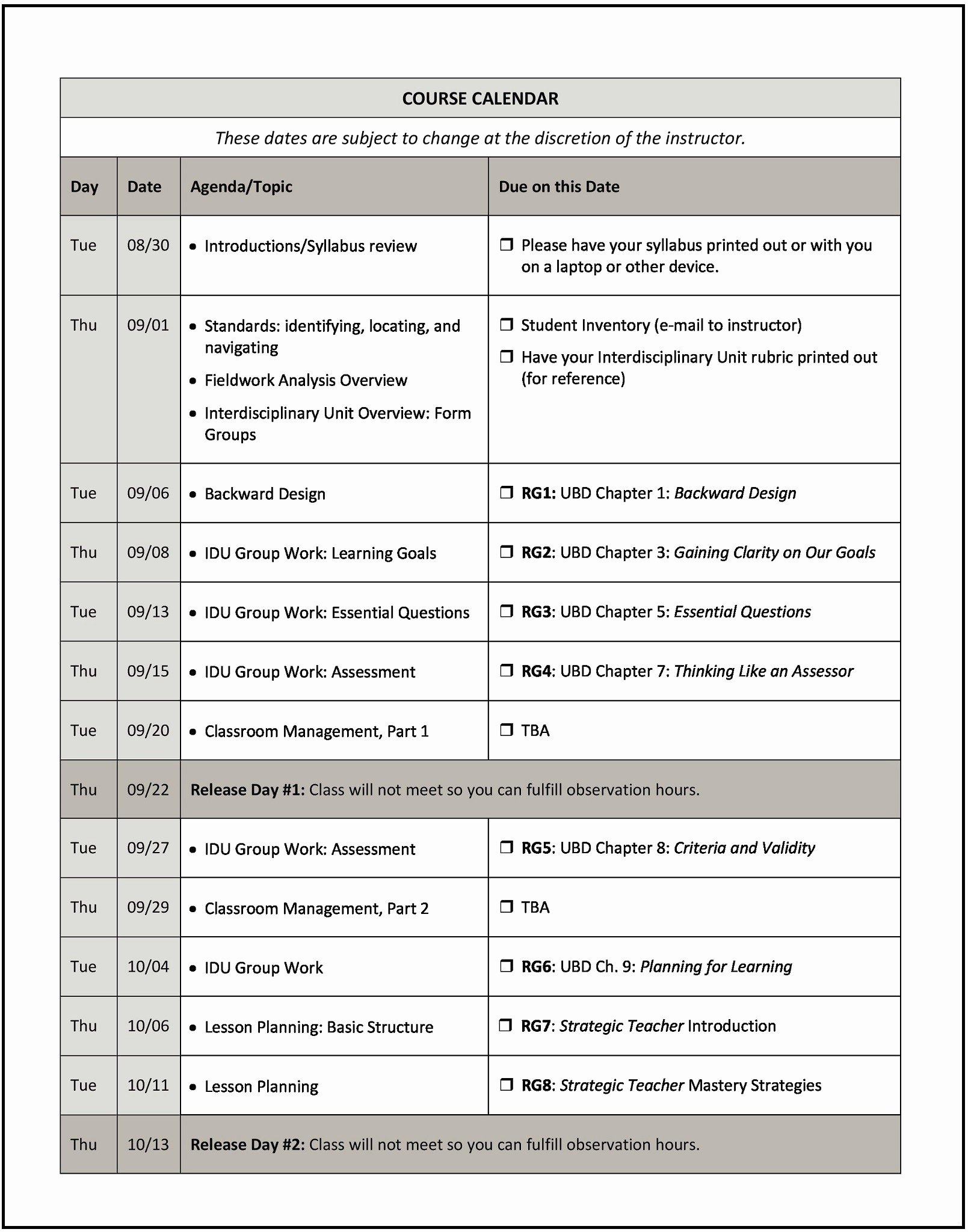 Course Syllabus Template for Teachers Lovely How to Write A Syllabus