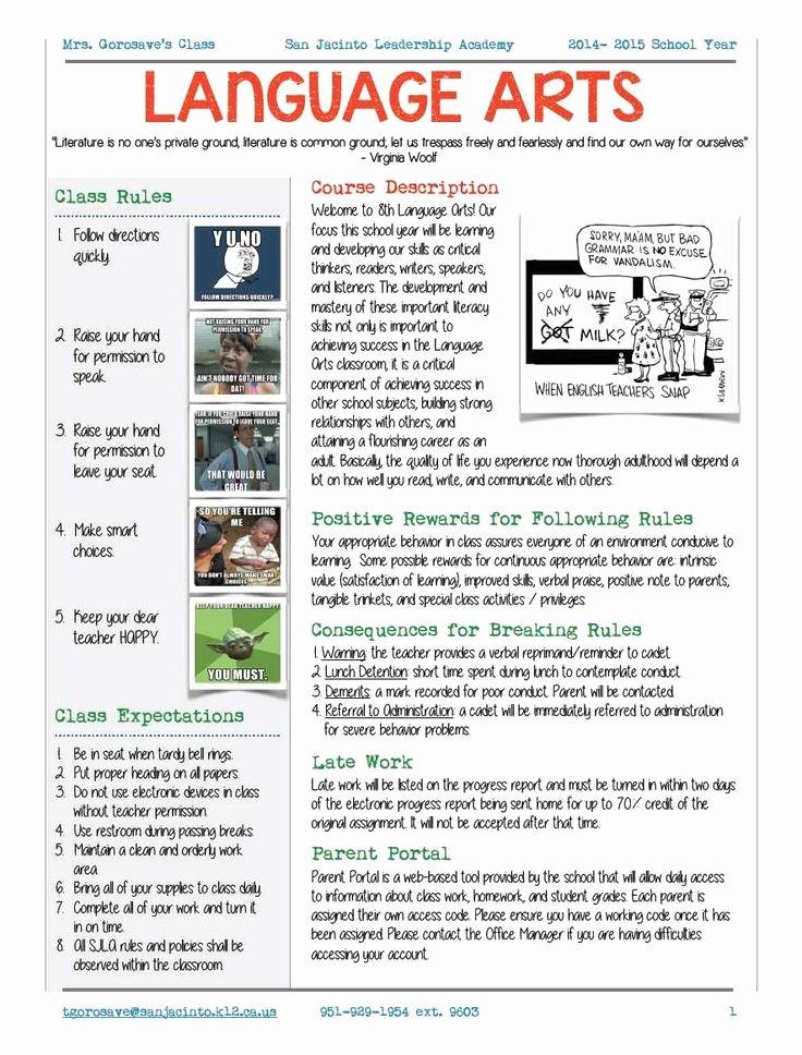 Course Syllabus Template for Teachers Luxury Best 25 Syllabus Template Ideas On Pinterest