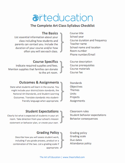 Course Syllabus Template for Teachers New Create A Syllabus that Your Students Will Actually Want to