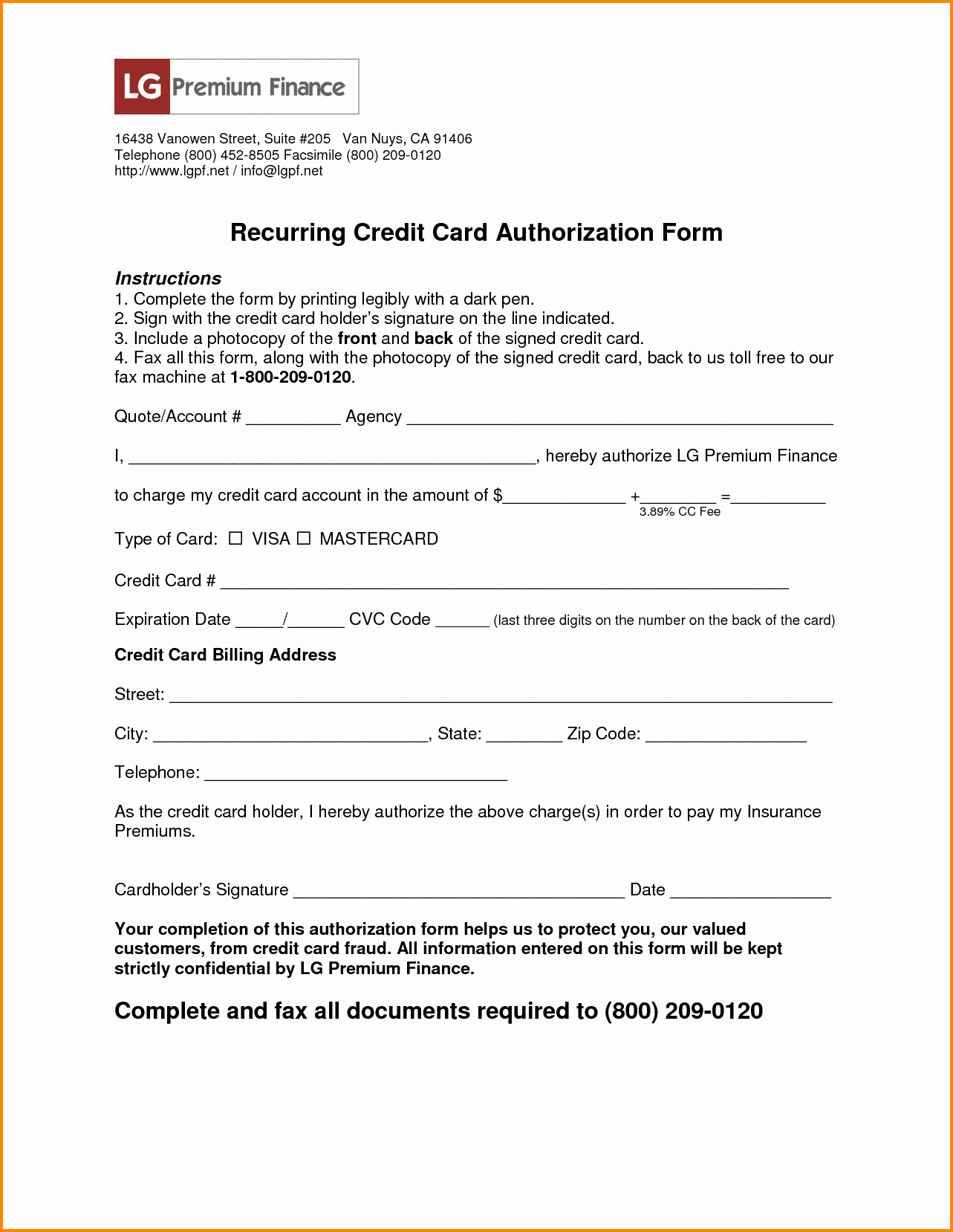 Credit Card Authorization Letter Template Best Of Authorization Letter to Use Credit Card 17 Tricks and