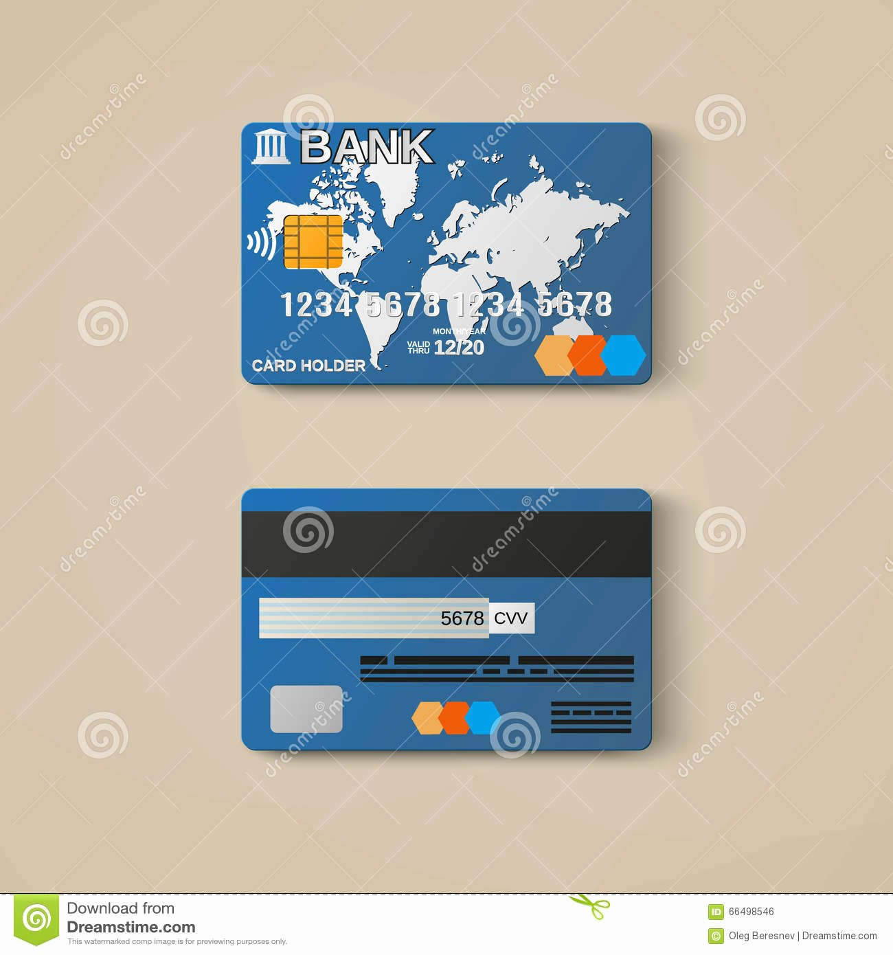 Credit Card Design Template Awesome Bank Card Credit Card Design Template Stock Vector