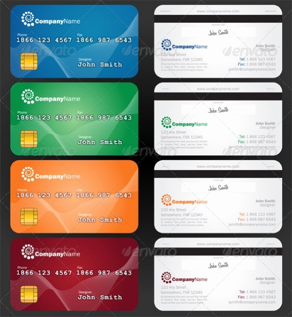 Credit Card Design Template Awesome Cardview – Business Card & Visit Card Design