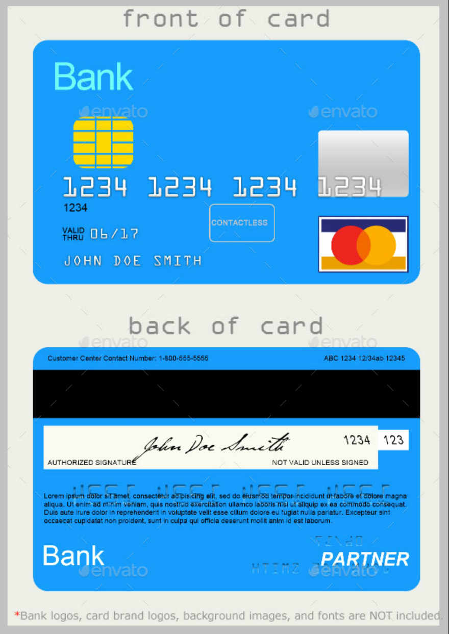 Credit Card Design Template Best Of 10 Credit Card Designs